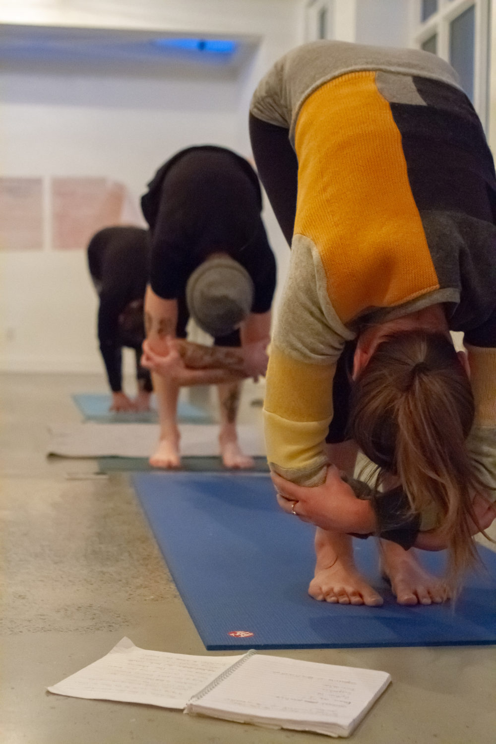 Yoga Outreach's weekend workshop asks trainees to notice how a trauma-informed yoga class differs from a regular class