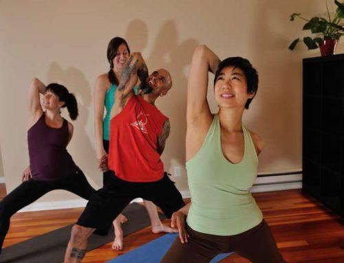 Do grouchy, judgemental smokers belong at yoga? Yes!